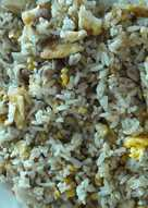 Nasi Goreng Daging Asap Simpel