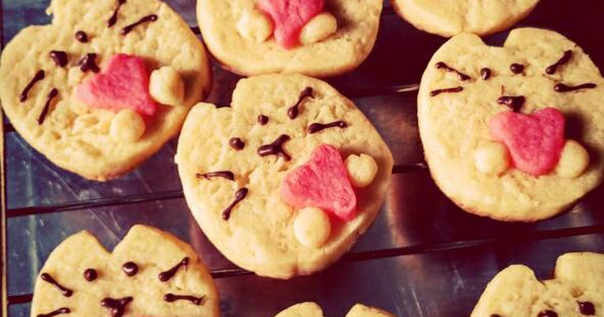 Resep Kitty Cookies