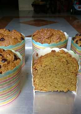 Muffin greentea popice #beranibaking
