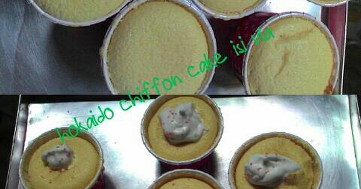 Resep Hokaido chiffon cake