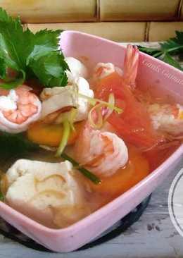 Sup Udang Tahu Bakso #PR_OlahanUdang