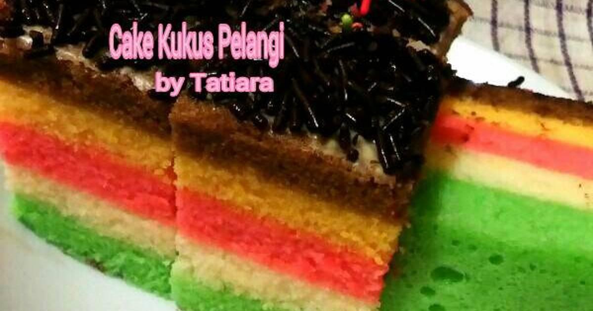 Resep Cake Kukus Pelangi