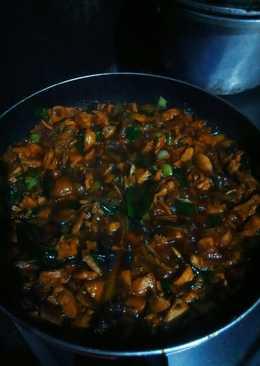 Ayam Kecap Mie Ayam (alakadarnya) 😂😂😂