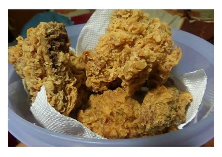 Resep Ayam goreng kriuk oleh riri annisa Resep Ayam goreng kriuk Kiriman dari riri annisa