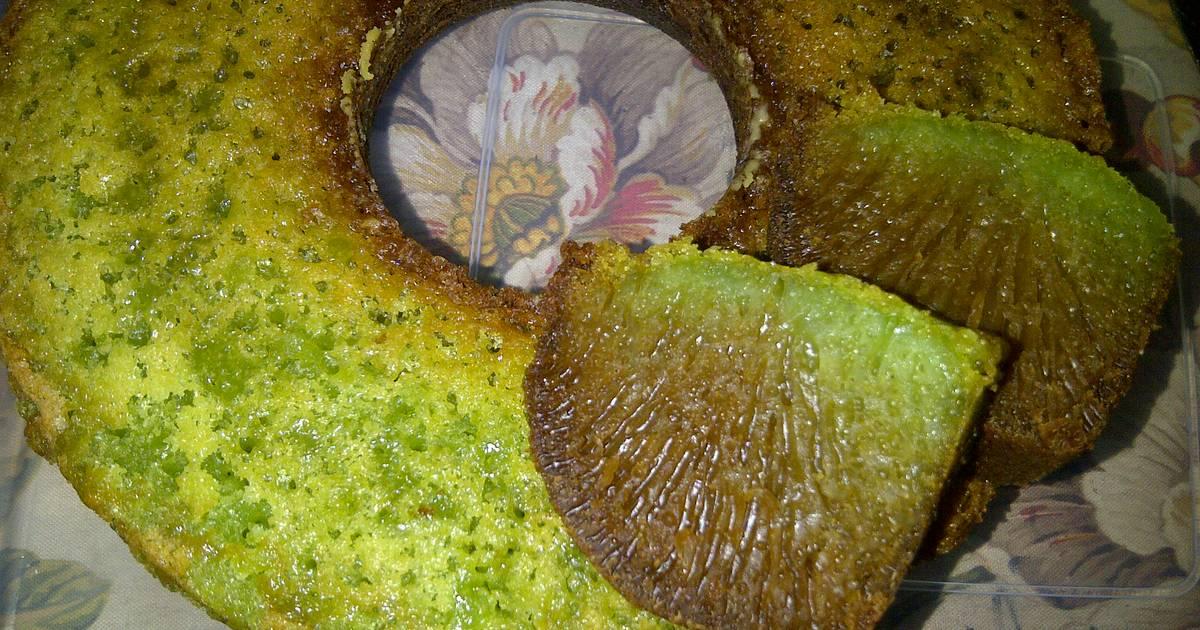 Resep Caramel Pandan - sarang semut Pandan