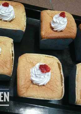Hokkaido chiffon cupcake #kamismanis