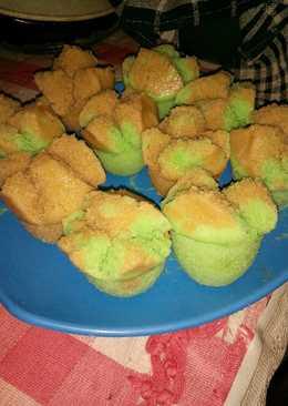 Kue mangkok (Apem) mekar