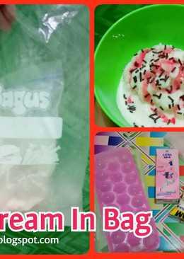 Ice Cream In Bag (bikin es krim sekalian fun science)