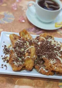 Pisang goreng saus maplle simple #PekanInsipirasi
