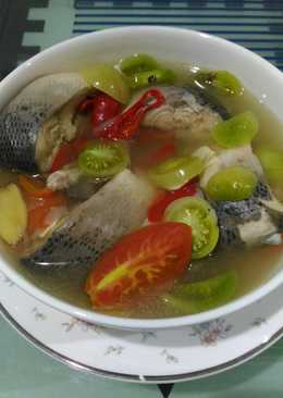 Soup bandeng asam pedas