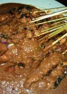 Sate Ayam/Sapi/Kambing Bumbu Kacang