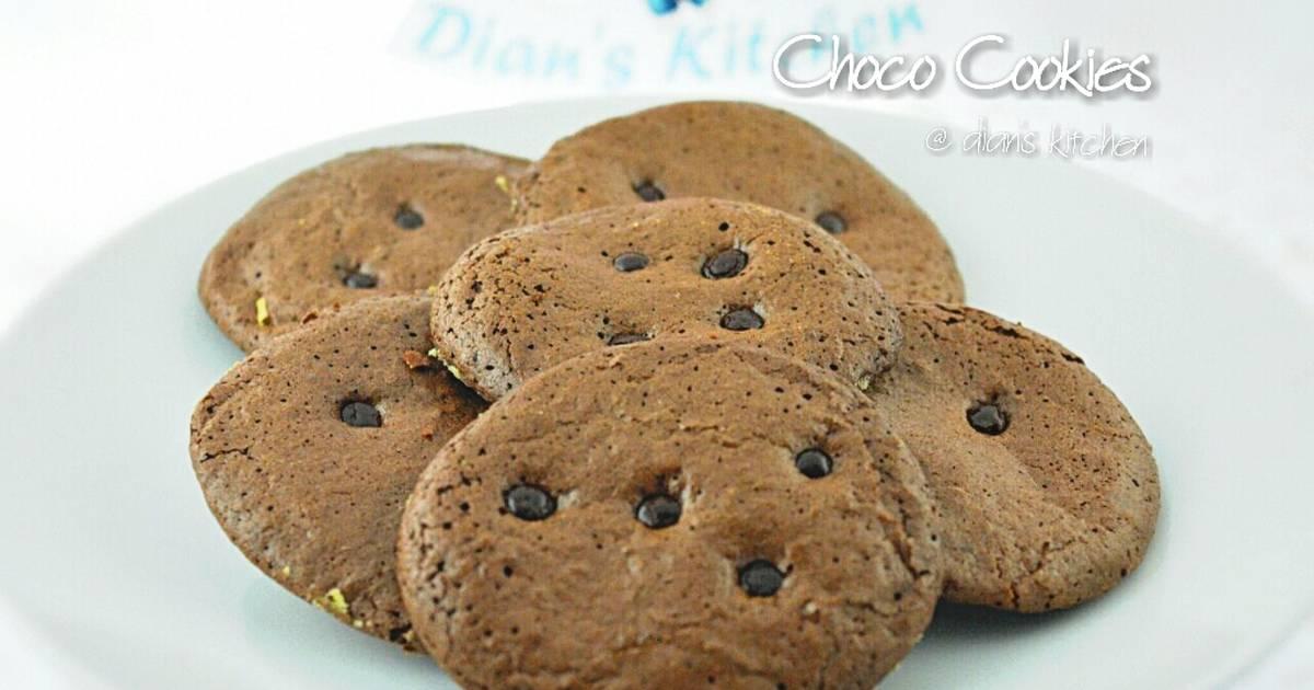 Resep Choco Cookies 5 Bahan Saja