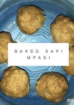 Bakso Sapi MPASI 15+
