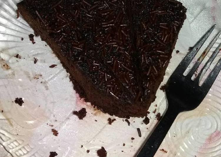 Brownies kukus magic com/rice cooker