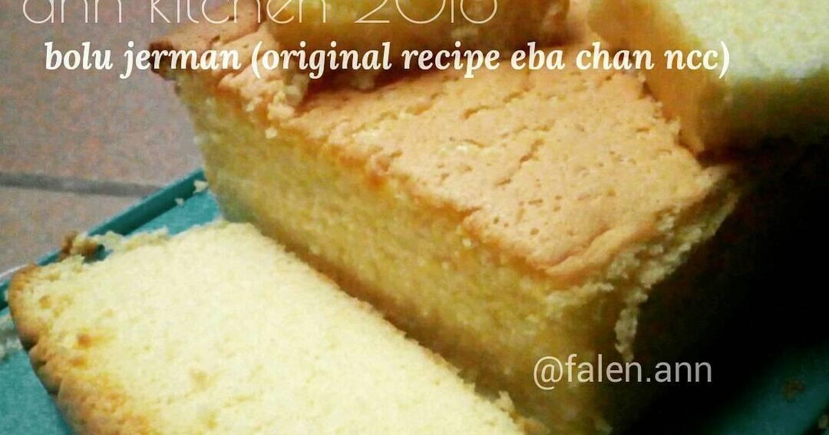 Resep Bolu jerman (resep original eba chan ncc)