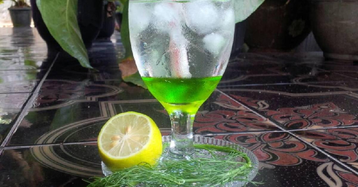 Resep Green Melon Squash dinginnya Segeeeeeer