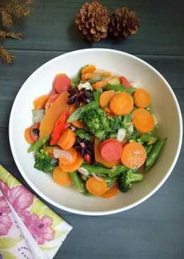 #4 Tumis sayuran bumbu rempah