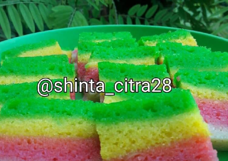 Rainbow Cake Ketela