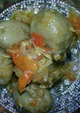 Bakso goreng mercon