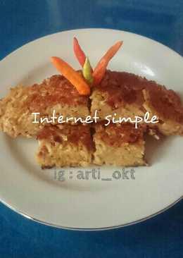 Omelet indomie telur kornet simpel