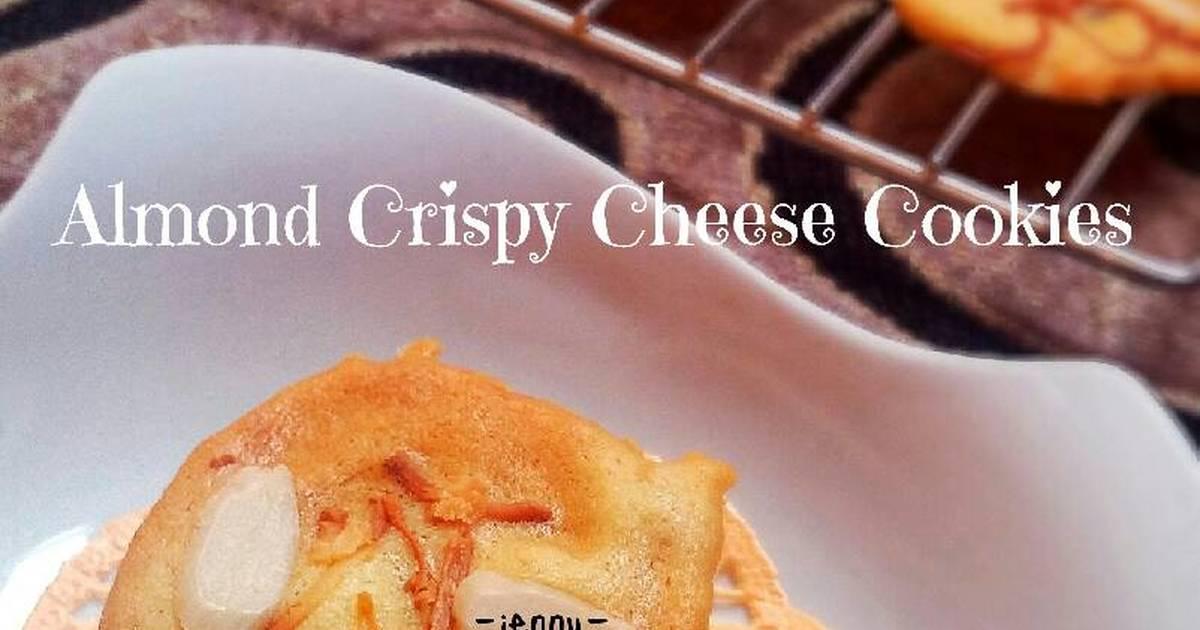 Resep Almond Crispy Cheese Cookies