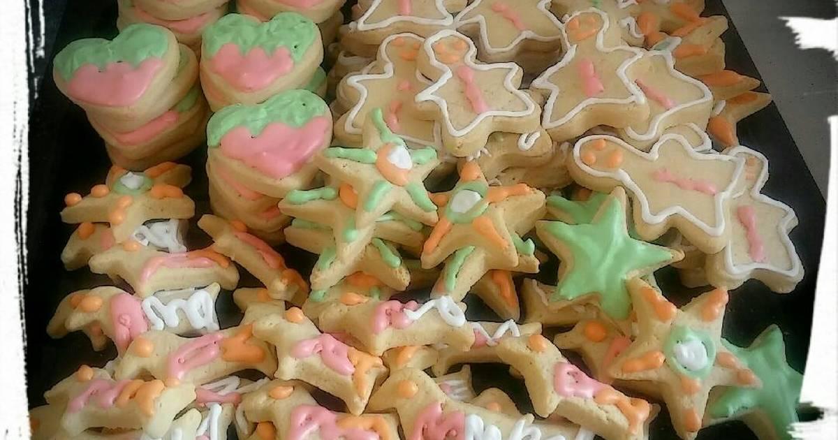 Resep cookies hias icing