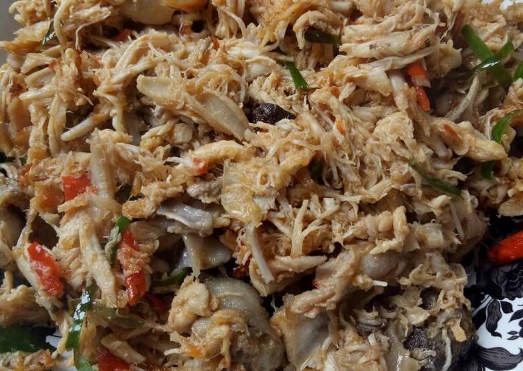Ayam Suwir Bali foto resep utama
