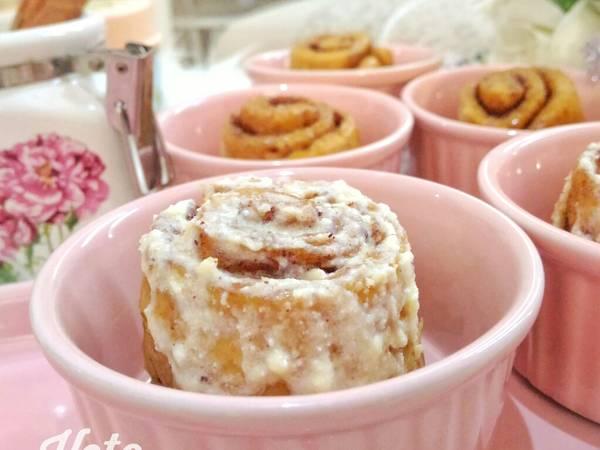 🔅Keto Cinnamon Rolls🔅#ketopad_cp_baking #masakitusaya