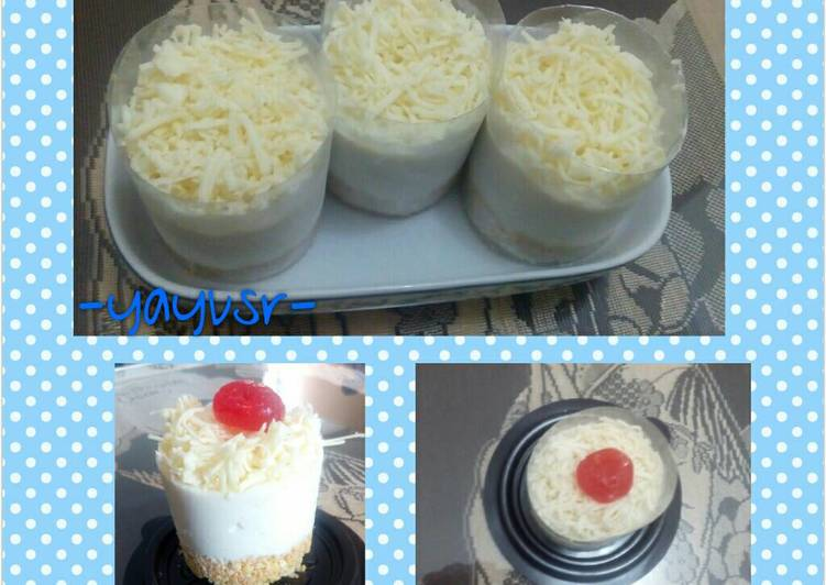 resep Mousse Cheese cake