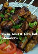 Bakso, sosis n Tahu bakar (recook)
