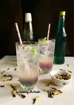 Homemade Sirup Bunga Telang