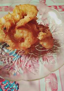Udang goreng tepung simple