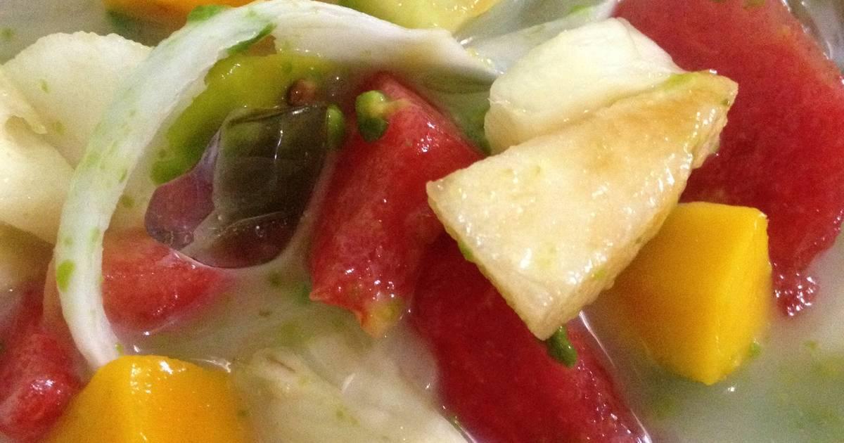 Resep Sup Buah
