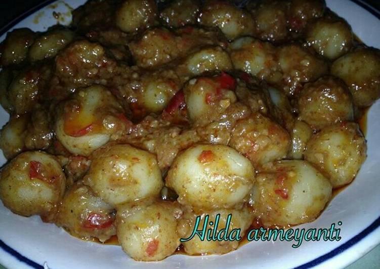 Resep Cilok Bumbu Kacang Pedas Oleh Hilda Armeyanti Cookpad