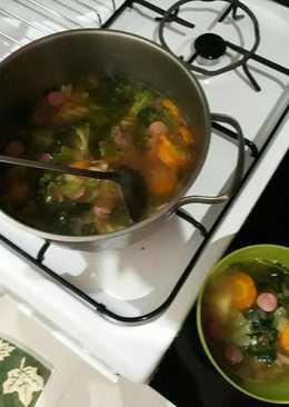 Sop sayuran paling gampang