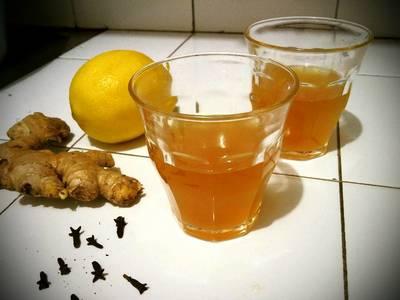 Herbal drink#obat batuk alami