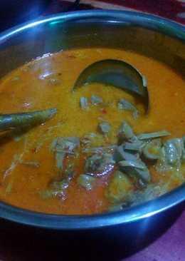 Gulai nangka+ ayam