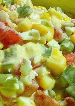 [Takjil Lezat Sehat] Salad Sayur Saus Tartar