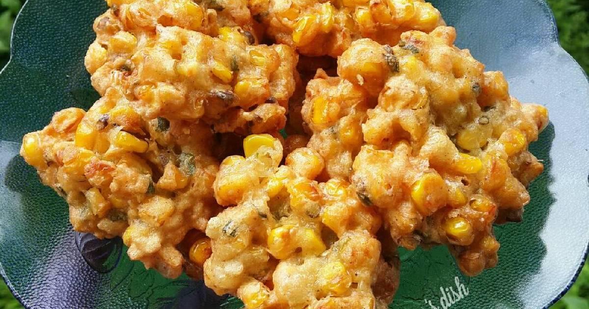 1 resep perkedel jagung corn fritters enak dan sederhana