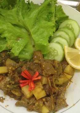 Baked beef rica rica (Diet Mayo H+2)