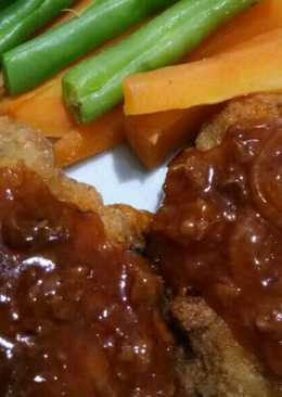 Steak ayam mudah dan nikmat