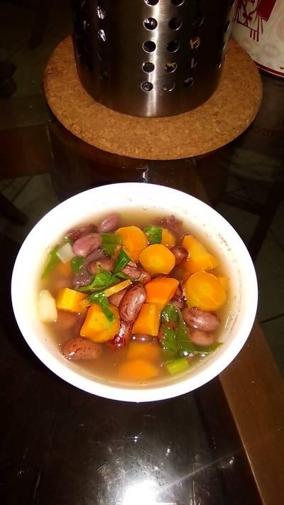 Sup Wortel Daging kacang merah #BikinRamadhanBerkesan