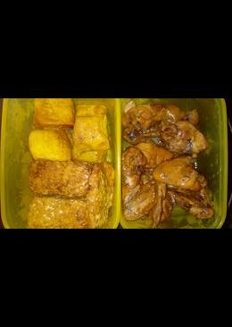 Bacem Ayam Tempe Tahu