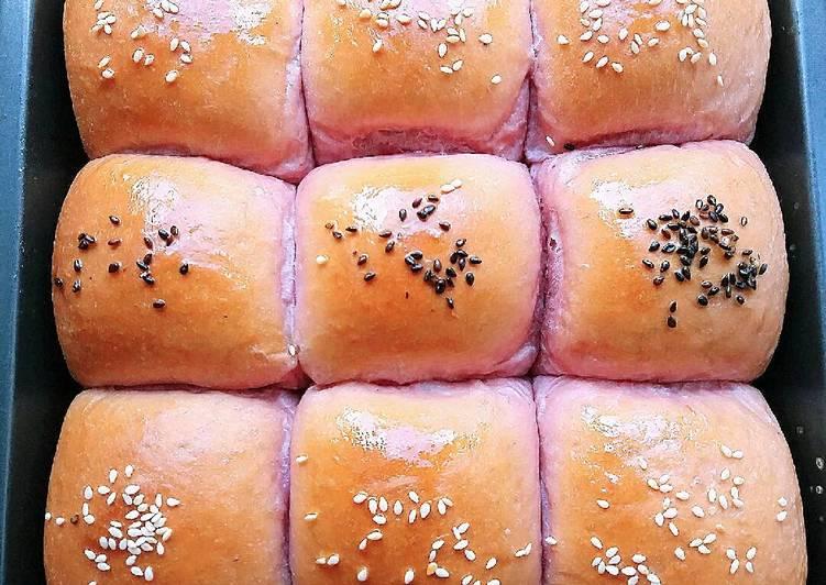 Roti Sobek Ubi Ungu