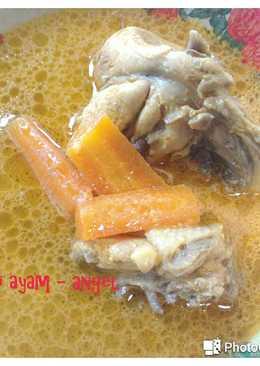 Kari ayam spesial pake wortel kentang