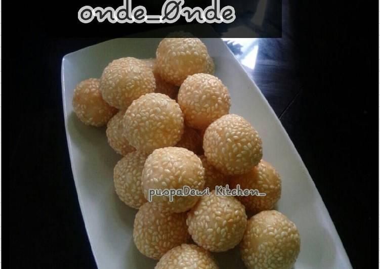 Resep ONDe onde simple Oleh S Puspa Dewi Thata