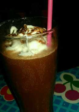 Ice chocolate ala ala