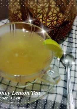 Honey Lemon tea buat diet