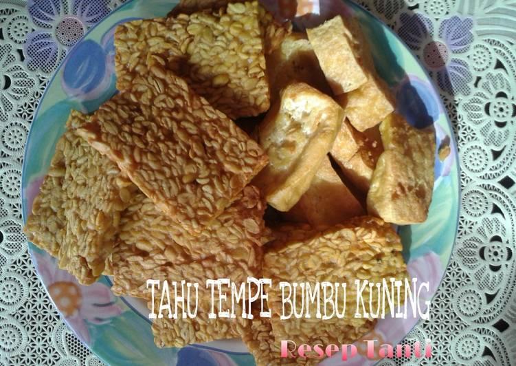 Resep Tempe Tahu Goreng Bumbu Kuning Kiriman dari Tanti