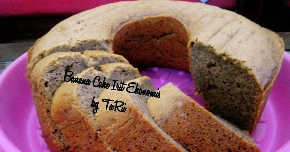 Resep Banana Cake Ala Jepang: 3.377 Resep